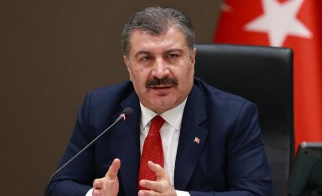 Sağlık Bakanı Fahrettin Koca yanlış grafik paylaşmış