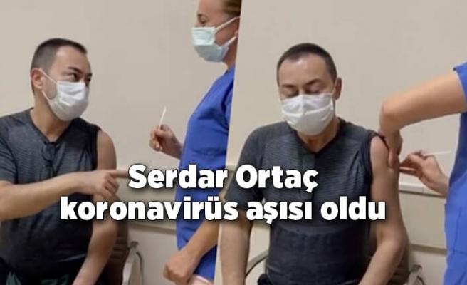 Serdar Ortaç koronavirüs aşısı oldu
