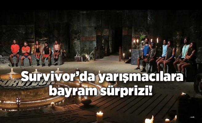 Survivor 2021'de yarışmacılara Ramazan Bayramı sürprizi!