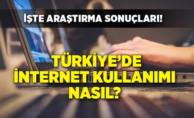 Türkiye'de internet kullanımı nasıl? İşte araştırma sonuçları...