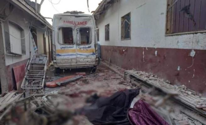 Afrin'de YPG/PKK'den hastaneye saldırı: 13 ölü, 27 yaralı