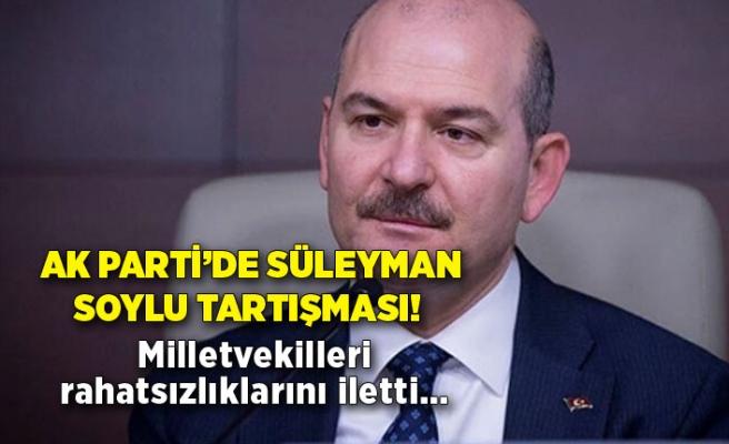 AK Parti'de Süleyman Soylu tartışması! Milletvekilleri rahatsızlıklarını iletti…