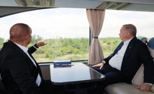 Aliyev'in sözleri Erdoğan'ı şaşkına çevirdi: 'Aaa onlar burada var mı?'