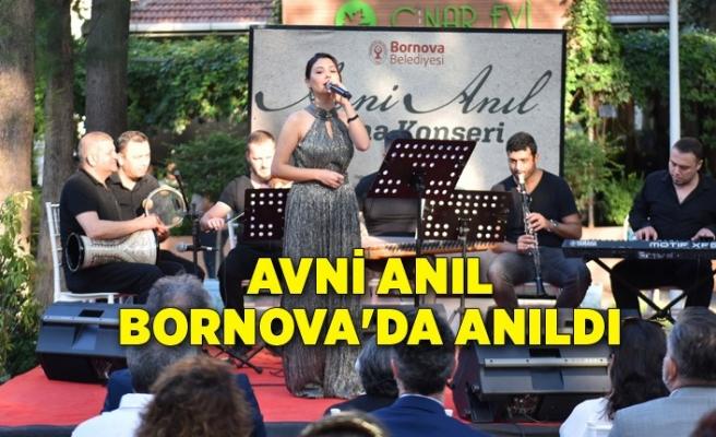 Avni Anıl Bornova'da anıldı