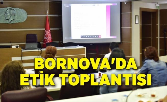 Bornova'da etik toplantısı