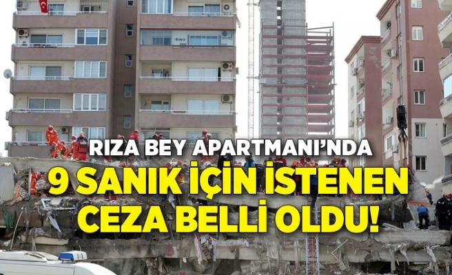 Depremde yıkılan Rıza Bey Apartmanı iddianamesinde 9 sanık için 20'şer yıl hapis istemi