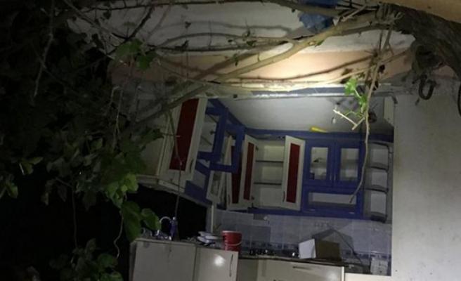 İzmir'de tüp patlayınca duvarlar yıkıldı: 1 yaralı