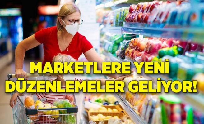 Marketlere yeni düzenlemeler geliyor!