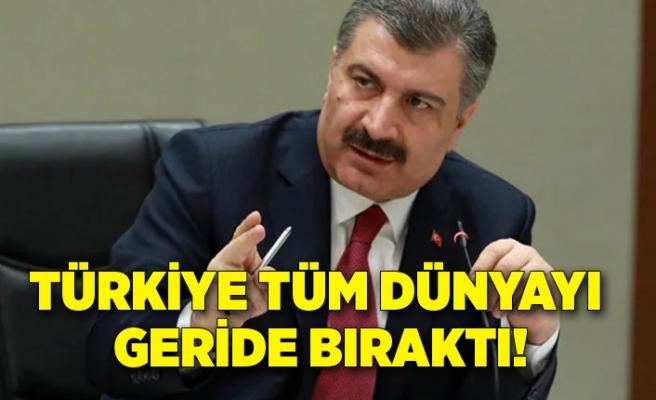 Rekor kırıldı! Türkiye günlük aşılamada 1,5 milyon barajını geçti