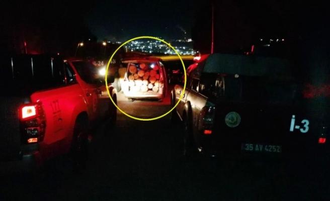 Tomrukları hırsızları foto kapanla tespit edilip, yakalandı