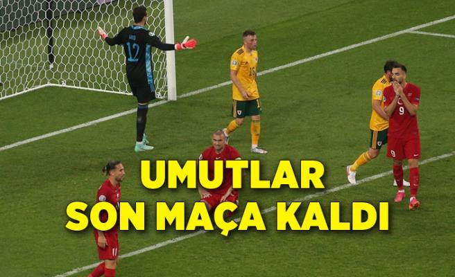 Türkiye: 0 -  Galler: 2