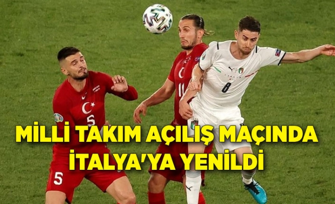 Türkiye - İtalya maç sonucu: 0-3