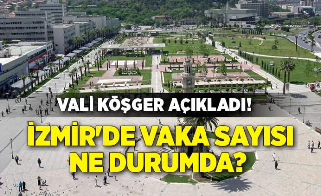 Vali Köşger açıkladı! İzmir'de vaka sayısı ne durumda?