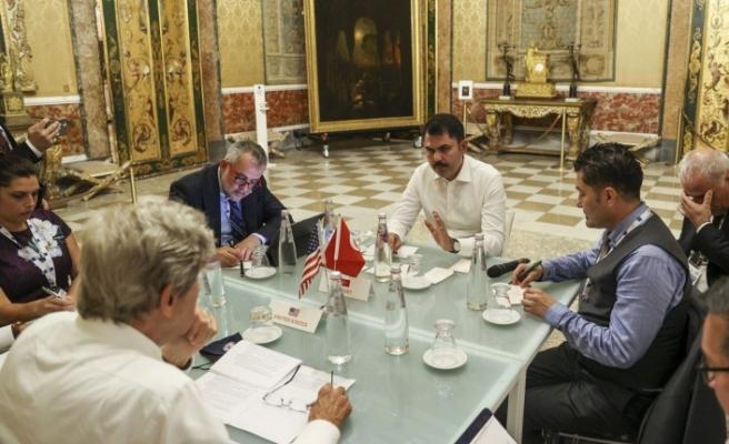Bakan Kurum, ABD Başkanı İklim Özel Temsilcisi ile görüştü