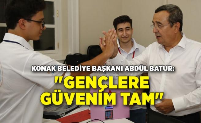 """Batur: """"Gençlere güvenim tam"""""""