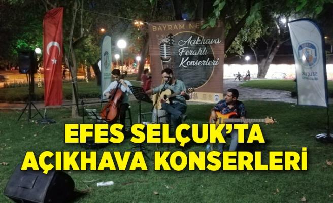 Efes Selçuk'ta açıkhava konserleri