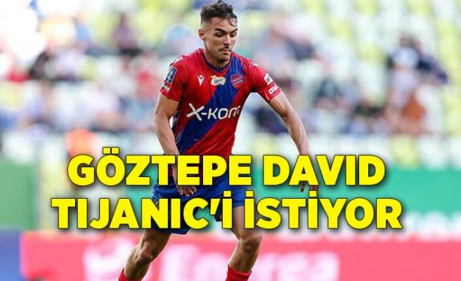 Göztepe David Tijanic'i istiyor