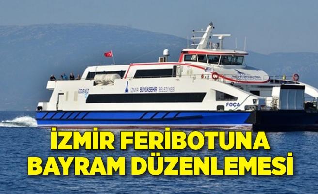 İzmir feribotuna bayram düzenlemesi