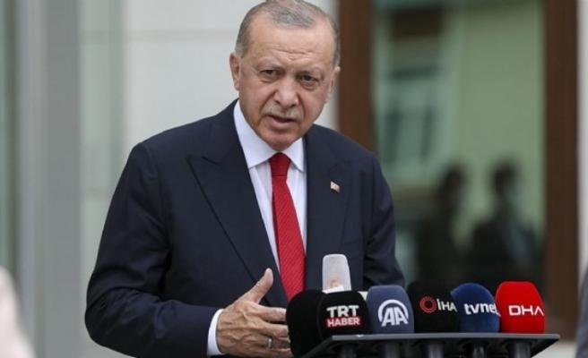 Cumhurbaşkanı Erdoğan'dan göç açıklaması