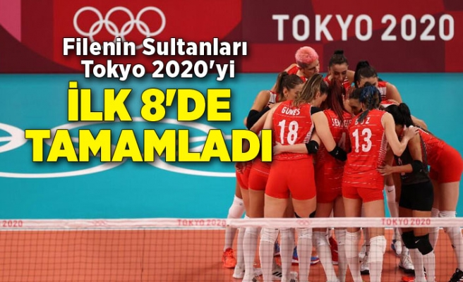 Filenin Sultanları Tokyo 2020'yi ilk 8'de tamamladı (Güney Kore - Türkiye: 3-2)