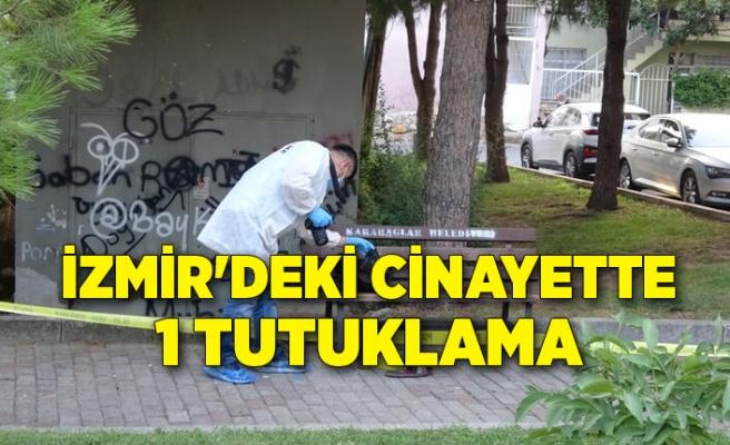 İzmir'de parktaki cinayette 1 tutuklama