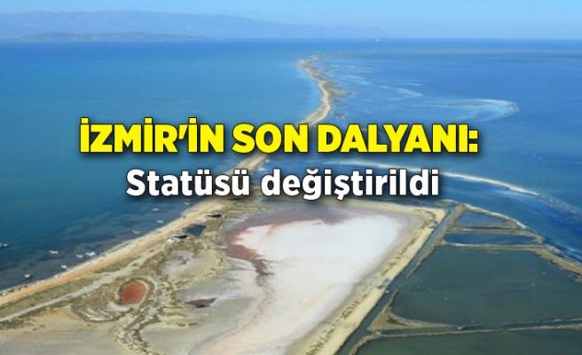 İzmir'in son dalyanı: Statüsü değiştirildi