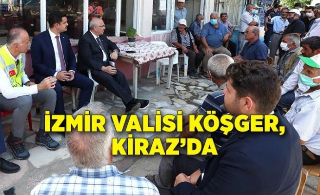 Vali Yavuz Selim Köşger, Kiraz'da
