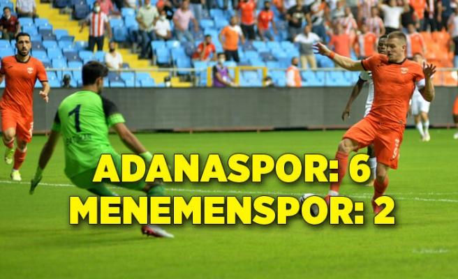Adanaspor: 6 - Menemenspor: 2