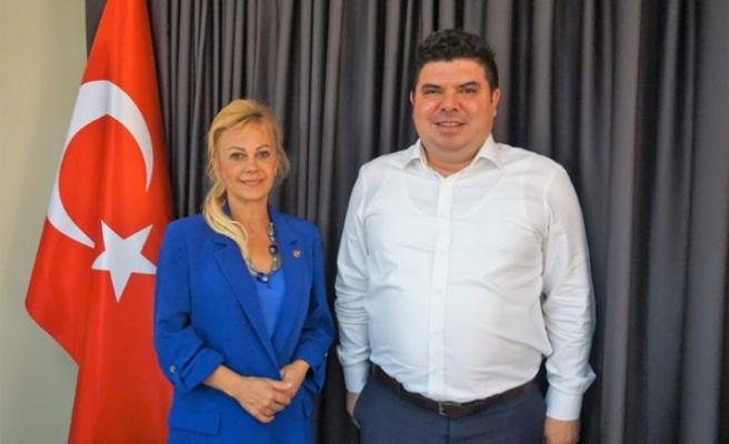 Buca Belediye Başkanı Kılıç'tan, İGC'ye ziyaret