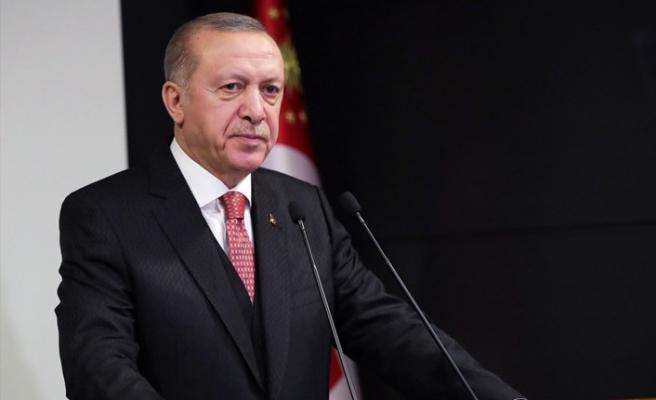 Erdoğan'dan 'Bakü' mesajı