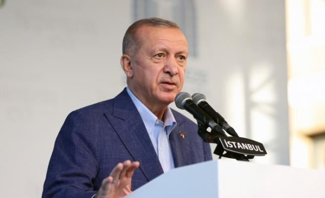 Erdoğan: Yurt yokmuş gibi yalan kampanyalar sürdürüyorlar