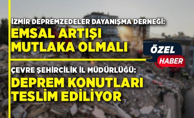 İzmir depreminde 1 yıl dolmak üzere...