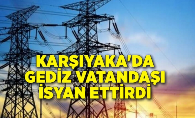 Karşıyaka'da Gediz vatandaşı isyan ettirdi