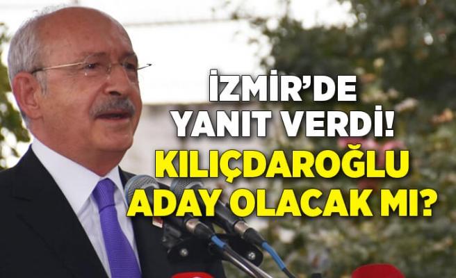 Kemal Kılıçdaroğlu 'Aday olacak mısınız?' sorusuna yanıt verdi!