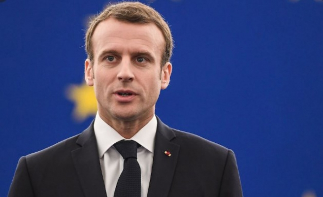 Macron'dan seçim yatırımı
