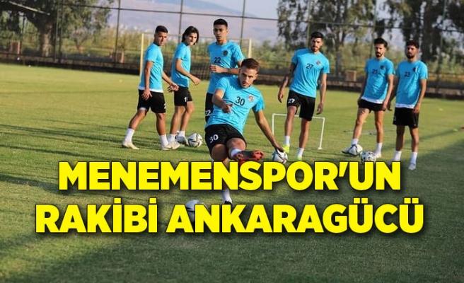 Menemenspor'un rakibi Ankaragücü