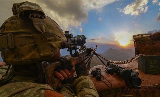MSB: 4 PKK'lı terörist etkisiz hale getirildi