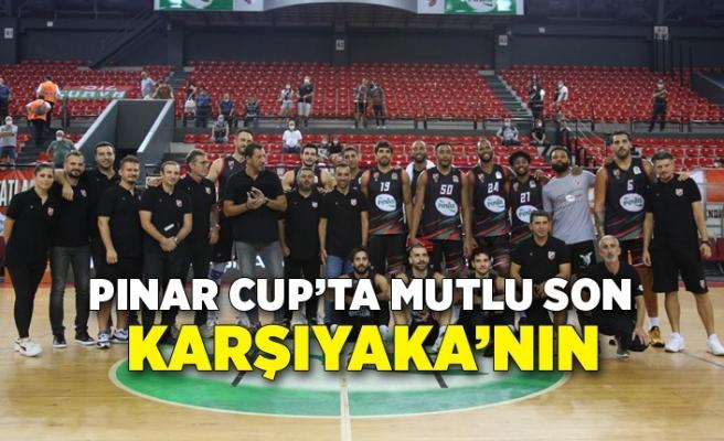 Pınar Cup'ta mutlu son Karşıyaka'nın