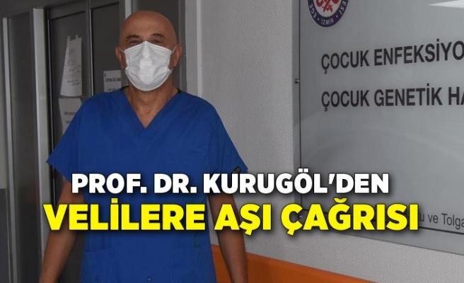 Prof. Dr. Kurugöl'den 12 yaş üzeri çocuklar için velilere aşı çağrısı