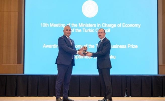 SOCAR Türkiye, Türk Konseyi Yatırım Ödülünü aldı