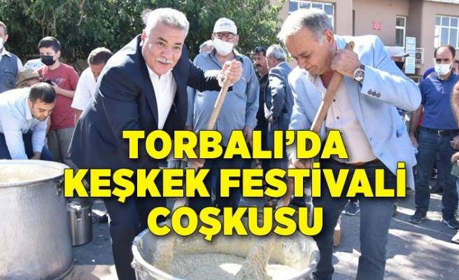 Torbalı'da Keşkek Festivali coşkusu