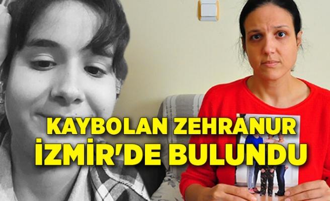 17 Yaşındaki Zehranur İzmir'de bulundu