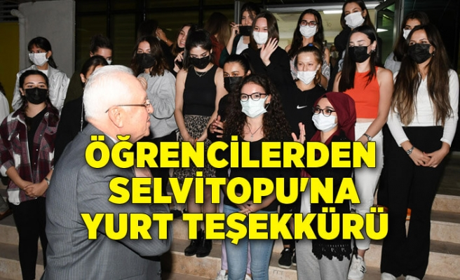 Öğrencilerden Selvitopu'na yurt teşekkürü