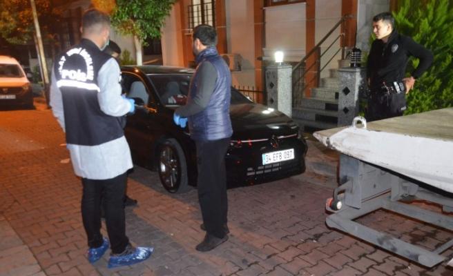 Polise ateş edilen otomobile detaylı inceleme