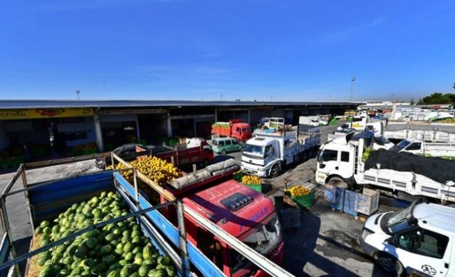 Sebze ve Meyve Hali'ne 12 milyon liralık yatırım