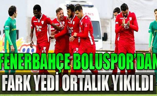 Fenerbahçe, Boluspor maçında 6 gol yedi!