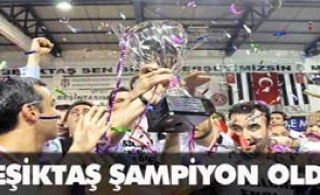 Şampiyon Beşiktaş