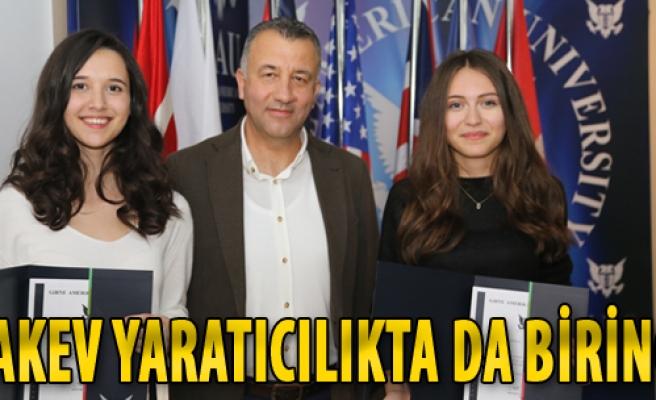 Yaratıcı Fikirler Yarışmasında TAKEV Lisesi Türkiye Birincisi