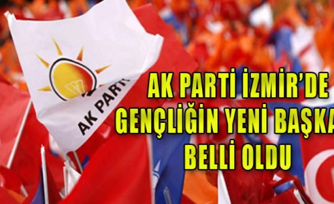 AK Parti İzmir'de gençliğin yeni başkanı belli oldu