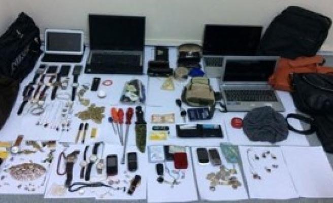 Hırsızlık Şüpelisi Tutuklandı